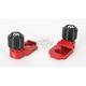 Red Axle Block Sliders - DRAX-105-RD