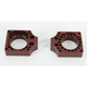Brown Billet Axle Blocks - YAB10