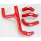 Red Performance Radiator Hoses - SFSMBC172R