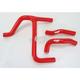 Red Performance Radiator Hoses - SFSMBC202R
