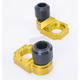Gold Axle Block Sliders - DRAX-108-GD