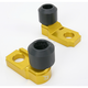 Gold Axle Block Sliders - DRAX-107-GD