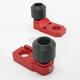 Red Axle Block Sliders - DRAX-107-RD