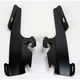 Black No-Tool Trigger-Lock Plate Only Kit to Change from Sportshield to Fats/Slims for Models w/o Light Bar - MEB8874