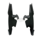 Black Batwing Plate-Only Hardware - 2321-0204