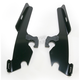 Night Shades Black No-Tool Trigger-Lock Hardware Kit to Change from Sportshield to Fats/Slim - Plates Only - MEB8873