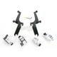 Night Shades Black No-Tool Trigger-Lock Hardware Kit for Sportshields - MEB8932