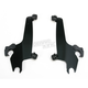 Night Shades Black No-Tool Trigger-Lock Hardware Kit to Change from Fats/Slim to Sportshield - Plates Only - MEB1817