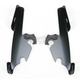 Night Shades Black No-Tool Trigger-Lock Hardware Kit to Change from Sportshield to Fats/Slim - Plates Only - MEB8860