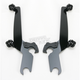 Night Shades Black No-Tool Trigger-Lock Hardware Kit to Change from Fats/Slim to Sportshield - Plates Only - MEB8821