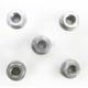Silver Aluminum Sprocket Nut for Ducati 5-Bolt Hubs - DSN5SL