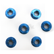 Blue Aluminum Sprocket Nut for Ducati 6-Bolt Hubs - DSN6BL