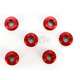 Red Aluminum Sprocket Nut for Ducati 6-Bolt Hubs - DSN6RD