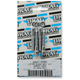 Chrome Smooth Lifter Block Bolt Set - 2401-0781