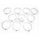 190-210mm Stainless Steel Hose Clamp Set - W3190210