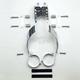 Ranger/Custom/Low Boy Windshield Mounting Kit - KIT-BH