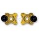 Gold Axle Block Sliders - DRAX-113-GD