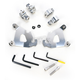 Polished Trigger-Lock Hardware Kit for Cafe Fairing - MEK1996