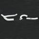 White Performance Radiator Hose Kit - SFSMBC245W