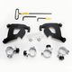 Black No-Tool Trigger Lock Hardware Kit for Cafe Fairing - MEB2007
