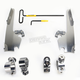 No-Tool Trigger Lock Hardware Kit for Memphis Fat/Slim Windshield - MEK2005