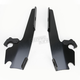 Black No-Tool Trigger-Lock Plate Only Kit for Memphis Fat/Slim Windshield - MEB1705