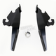 Black No-Tool Trigger-Lock Plate Only Kit for Batwing Fairing - MEB1704