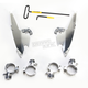 No-Tool Trigger Lock Hardware Kit for Memphis Fat/Slim Windshield - MEK2001