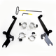 Black No-Tool Trigger-Lock Hardware Kits for Sportshield Windshield - MEB2000