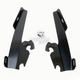 Black No-Tool Trigger-Lock Plate Only Kit for Batwing Fairing - MEB1899