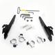 Black No-Tool Trigger-Lock Hardware Kits for Batwing Fairing - MEB2009