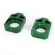 Green Axle Block - 17-128