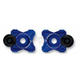 Blue Axle Block Slider - DRAX-116-BL