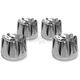 Chrome Excalibar Head Bolt Covers - HBC-304-CH-EX