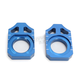 Blue Kawasaki Axle Block - 17-022