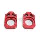 Red Kawasaki Axle Block - 17-027