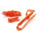 Orange Chain Guide and Slider Set - 2421140036