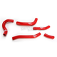 Red Performance Radiator Hoses - SFSMBC248R