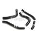 Black Performance Radiator Hoses - SFSMBC263BL
