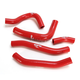 Red Performance Radiator Hoses - SFSMBC263R