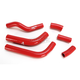 Red Performance Radiator Hoses - SFSMBC260R