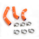 Orange Race Fit Radiator Hose Kit - 1902-1184