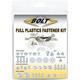 Plastics Fastener Kit - KAW-1600004