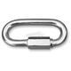 3/8  in. x 3 1/8 in. Zinc Plated Steel Quick Links - 2404-0655