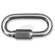 1/4 in. x 2 1/4 in. Stainless Steel Quick Links - 2404-0656