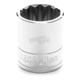 1/2 in. Drive 23mm 12 Point Socket Tool - W32823