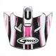 Black/Pink/White Visor for Youth GM46.2 Traxxion Helmet - 72-1204