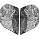 Black Honcho Alliance GT Sideplates - 0133-0907