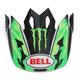 Green Camo/Black Pro Circuit Replica Visor for the MX-9 Adventure Helmet - 7071345