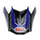 Blue/Black Replacement Visor for the SX-1 Race Helmet - 7071388
